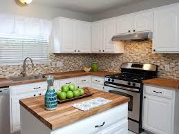 wood countertops black glass kitchen backsplash teak wood off white kitchen cabinets with wood countertops