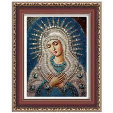 honana wx-677 5d <b>round diamond painting diy</b> cross stitch home ...