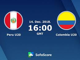 Peru U20 Colombia U20 en vivo ver partido online y resultado en directo -  SofaScore