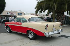 1956 Chevrolet Bel Air Sport Coupe - cream over red - rvl ...