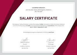 Certificate Of Employment With Compensation Soulective Co