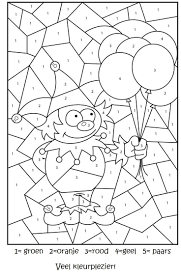Kleurplaten En Puzzels Voor Kinderen Ideas For Drawing School