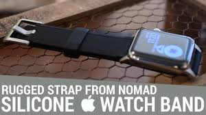 Nomad's <b>Silicone Strap</b> is a Rugged Take on <b>Apple's</b> Sports Bands ...