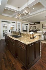 Large Kitchen Dining Room Kitchen Room 2017 Open Floor Plan Kitchen Dining Living Room