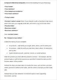 49+ Complaint Letter Templates - Doc, Pdf   Free & Premium Templates