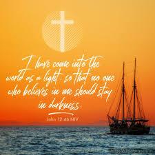 Light Of The World Verse Niv John 12 46 Archives I Live For Jesus