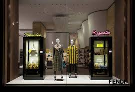 Chanel Vending Machine Awesome Fendi's Vending Machine Themed Windows Dispense Luxury Pursuitist