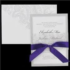 35 best wedding invitations images on pinterest wedding stuff Hobby Lobby Coral Wedding Invitations his & hers white & gray wedding invitations with purple ribbon shop hobby lobby Hobby Lobby Printable Invitations