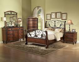 wood and iron bedroom furniture. wood and metal bedroom furniture iron
