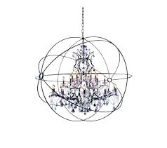 large orb chandelier dining room fascinating the inspiring extra at from wood