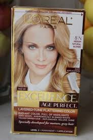l oreal excellence age perfect layering