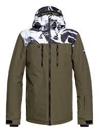 Mission Block Snow Jacket Eqytj03187 Quiksilver