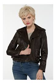 new jacket 52 soft brown sheep nappa leather