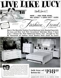 U201cI Love Lucyu201d Bedroom Suite U2014 1953 (Lucille Ball U0026 Desi Arnaz) Purchase The  Bedroom Suite Created Especially For Lucy And Desiu0027s TV Show And Home!