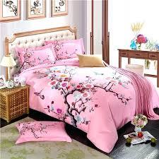 purple plum flower winter bedding sets 100 cotton sanding fabric duvet cover set bed linensplum covers king