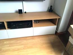 decoration stand bespoke made oak media unit and wall white besta tv cabinet