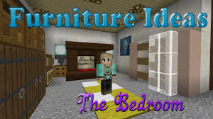 Lovely Minecraft Furniture Ideas: #3 Kiwi Designs For Bedroom Furniture   YouTube
