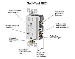 gfi wire diagram electrical how do i install a gfci receptacle two Gfci Outlet Wiring Diagram wiring diagram for a gfci outlet the wiring diagram wiring a gfci outlet diagram wiring wiring wiring diagram for gfci outlet