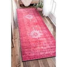 vintage overdyed rugs vintage inspired pink runner rug overdyed vintage rugs diy vintage overdyed rugs nz