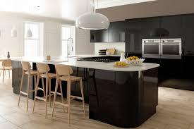 Black Gloss Kitchen High Gloss Kitchens