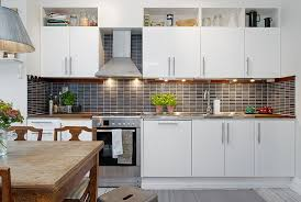 Simple Elegance These White Modern Kitchens Feature Cabinets
