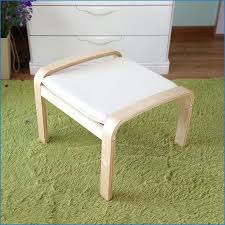 wooden foot stool unfinished step handcrafted