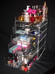 amazing clear kardashian with kim kardashian makeup storage