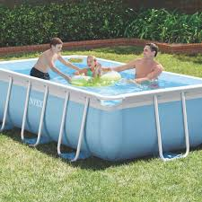 square above ground pool. Prism Frame Pool Rectangular 9ft Square Above Ground