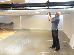 retractable lighting. lighting design lab retractable ceiling in seattle e