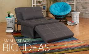 living room with the 5 in 1 ottoman bed papsan swivel chair
