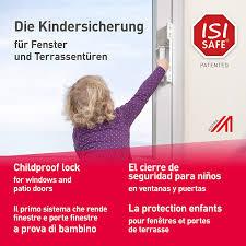 Isi Safe Neu Die Einfache Kindersicherung Weiss Für Fenster