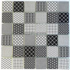 Find the average cost to install a tile backsplash with homeadvisor's backsplash price guide. Black Pattern Glass Tile Wall Backsplash Kitchen And Bathroom Mv Salax