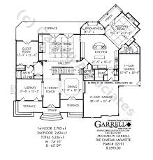 cau lafayette french country house plan