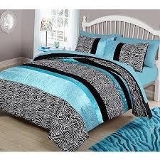teal queen comforter. Get Quotations · Your Zone Teal Animal Bedding Comforter Set Queen