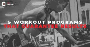 Gym Exercise Planner Workout Program Columbia 5 Workout Programs That Will Get