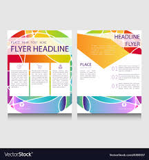 Tinci Designs Abstract Brochure Or Flyer Design Template