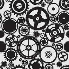 Gear Pattern Amazing SEAMLESS Pattern Of Gears Stock Vector Colourbox