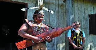 Selain itu dayak juga dikenal dengan kesenian yang khas dan unik. Pesona Sape Alat Musik Khas Dayak