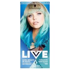 Morrisons Schwarzkopf Live Ultra Brights 096 Turquoise