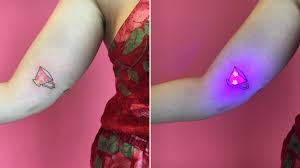 Uv And Black Light Tattoos Your Guide To Safety Risks Results