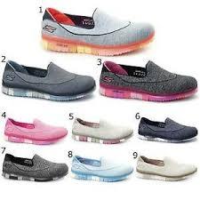 skechers yoga mat shoes. image is loading skechers-14010-go-flex-walk-ladies-womens-slip- skechers yoga mat shoes