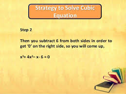 How To Factor A Cubic Solving Cubic Equations With The Help Of Factor Theorem