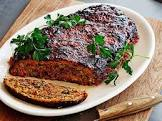 bobby flay s roasted vegetable meatloaf with balsamic glaze
