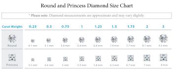 14 1 Carat Diamond Earrings Actual Size 1 4 Carat Diamond