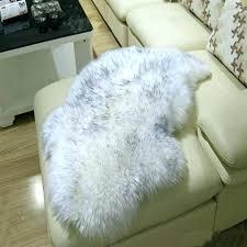 white fur rug white fur rug fur rugs fur rug sheepskin sofa cover warm