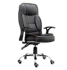 rocking office chair. hight quality pu leather rocking executive office chair with painting armrest and base c