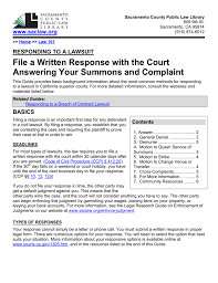 Pleading Template California 008311564 1 California Pleading Contract Form Samples Responding To