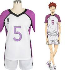 Haikyuu Height Chart Details About Haikyu Haikyuu Shiratorizawa Academy Satori Tendo 5 Uniform Cosplay Costume Suit