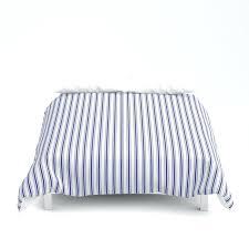 ticking stripe duvet navy blue on white mattress ticking stripes duvet cover ticking stripe duvet cover