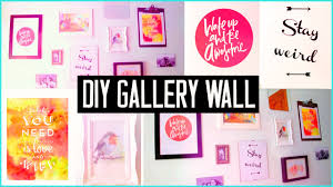 diy room decor design your wall arts make your own gallery wall easy you
